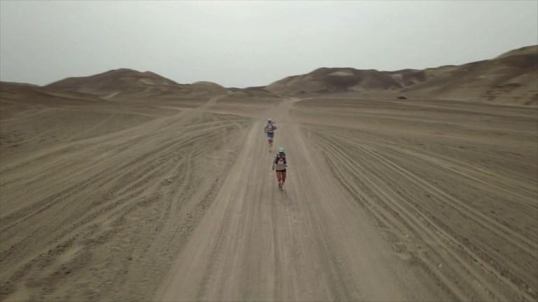 Lancement du premier Marathon des Sables au Pérou
