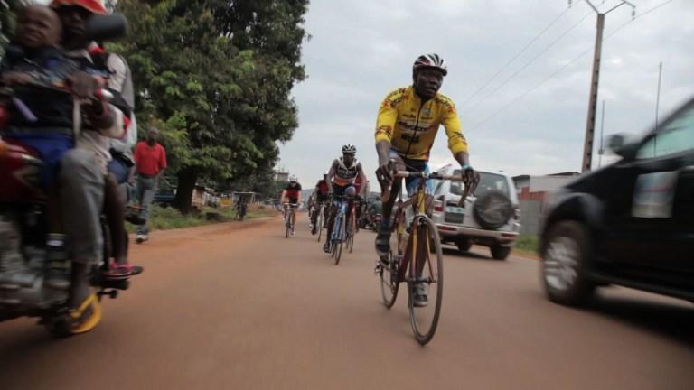 En Centrafrique, être cycliste malgré
