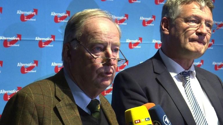 Allemagne: l'AfD opte pour deux dirigeants de l'aile dure