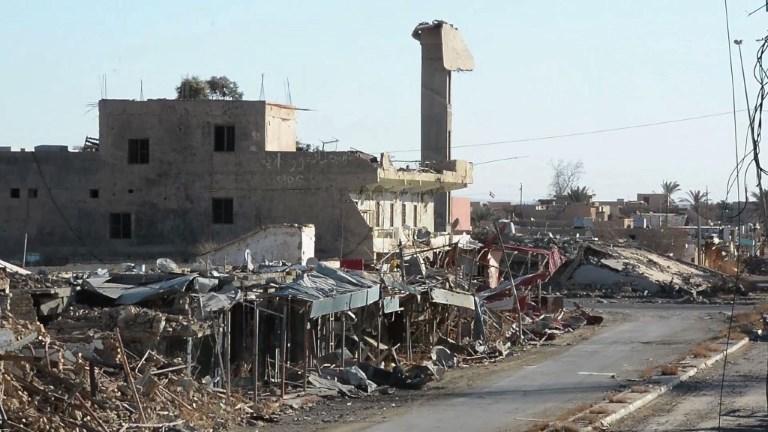 Baïji, une ville morte d'Irak et pas prête de ressusciter