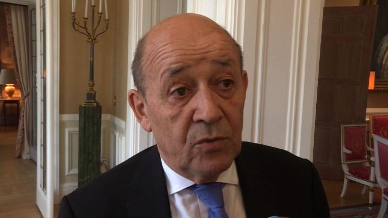 Jean-Yves Le Drian répond aux accusations de Bachar al-Assad