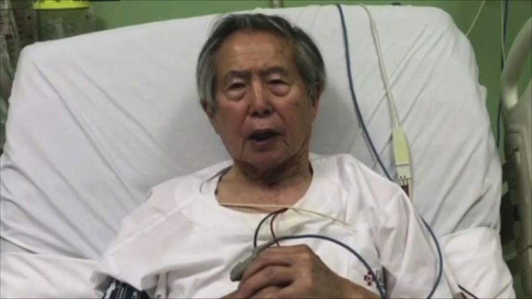 L'ex-président péruvien Fujimori demande pardon dans une vidéo