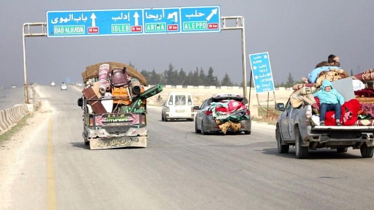 Syrie: les civils fuient les combats dans la province d'Idleb