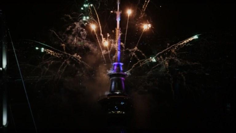 Nouvelle Zélande: début des festivités du Nouvel An
