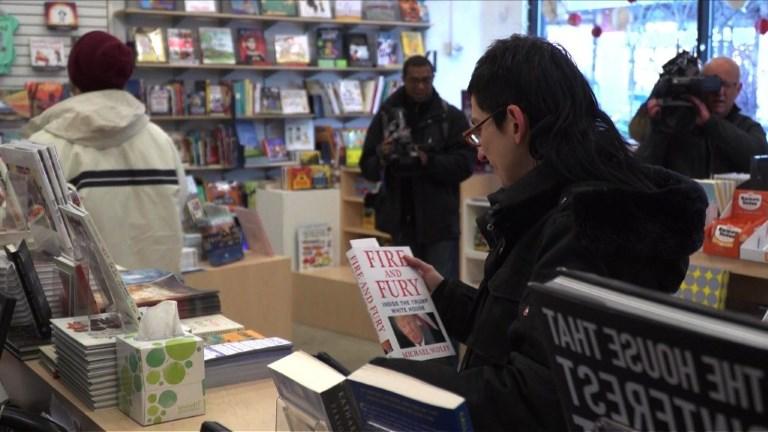 Le livre sur Trump en rupture de stock à Washington