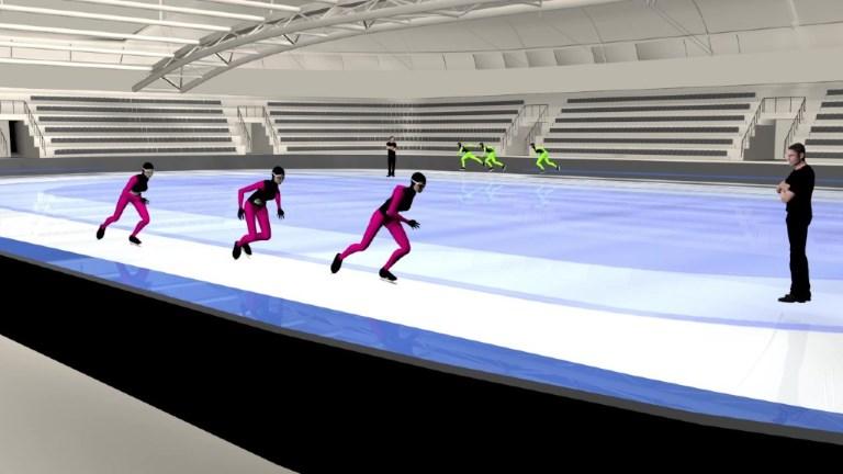 Le patinage de vitesse