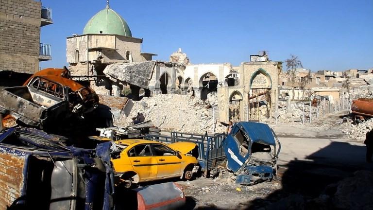 Ruines et désolation à Mossoul, six mois après sa