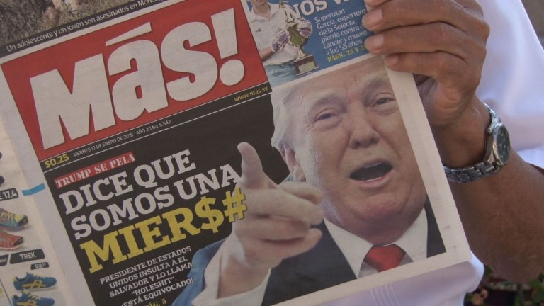 Tollé mondial après les propos de Trump sur les