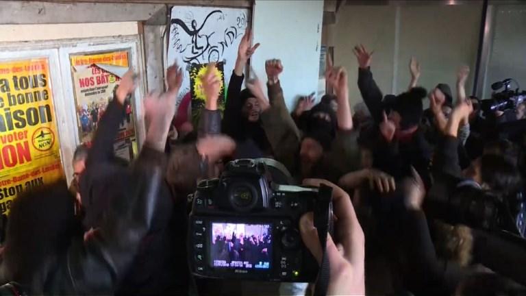 NDDL: les opposants à l'aéroport laissent éclater leur joie