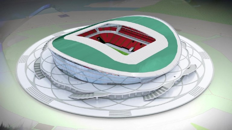 La Kazan arena