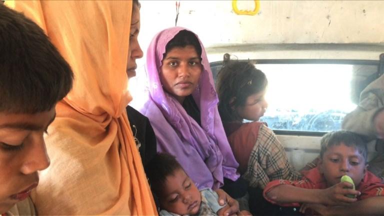 Nouvelles arrivées de réfugiés rohingyas au Bangladesh