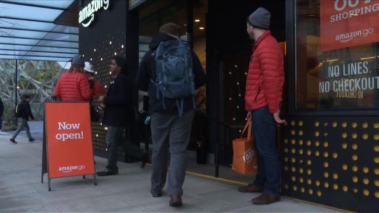 USA: Amazon ouvre son supermarché sans caisses