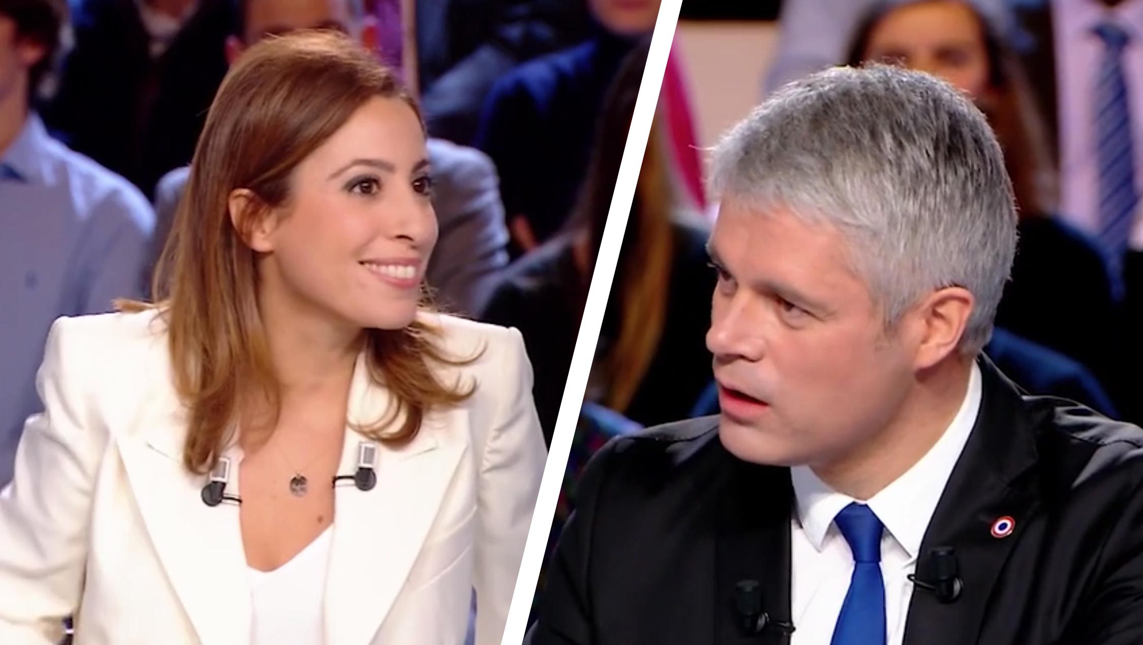 Laurent Wauquiez était l'invité de Léa Salamé dans l'Emission politique diffusée jeudi 25 janvier sur France 2
