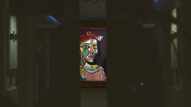 Enchères: un Picasso dévoilé à Hong Kong