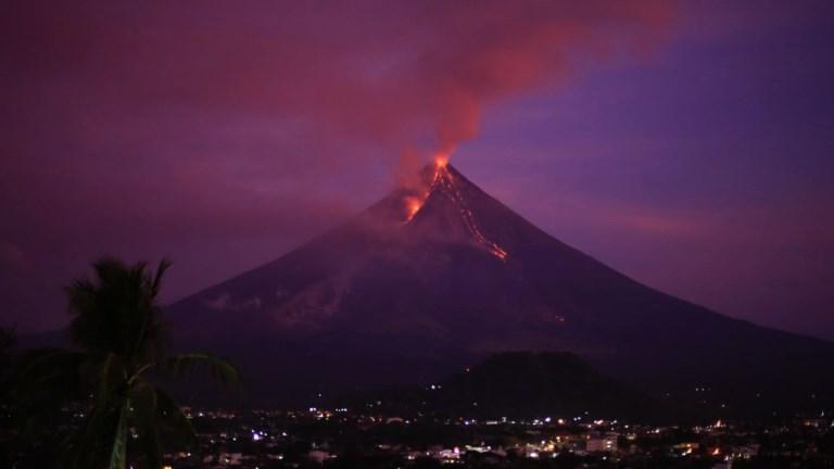 Philippines: éruption du volcan Mayon