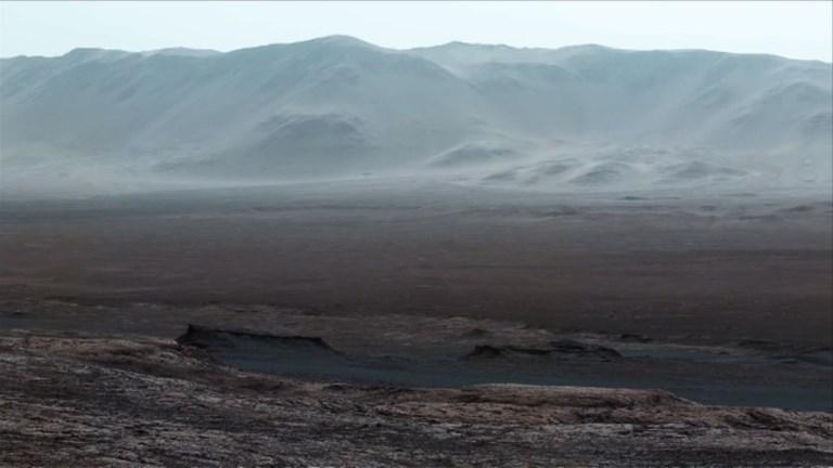 La NASA dévoile des images de la planète Mars