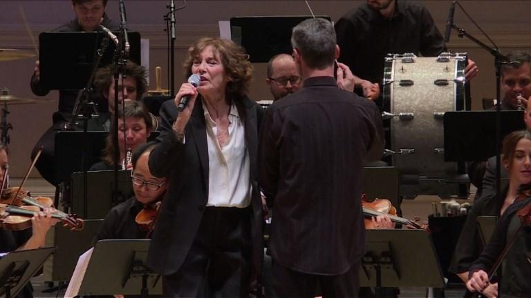 Birkin sublime la symphonie Gainsbourg à New York