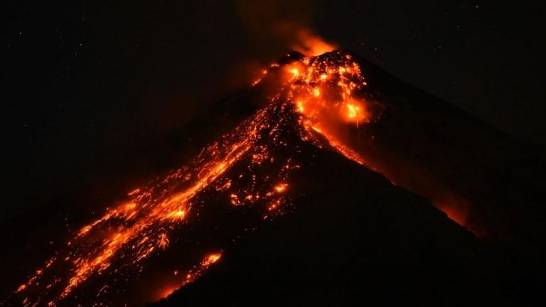 Guatemala: l'éruption du volcan Fuego en accéléré
