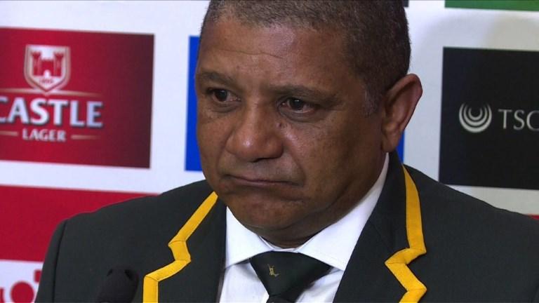 Rugby: Coetzee quitte son poste de sélectionneur des Springboks