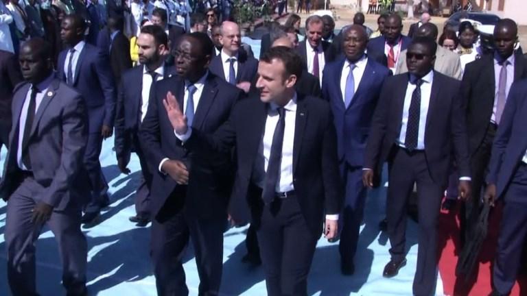 Macron/Sénégal: 200 millions d'euros pour l'éducation