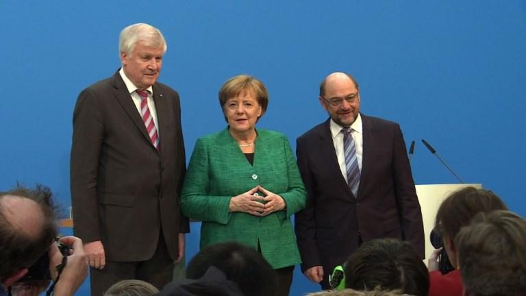 Allemagne : enfin une coalition après 4 mois d'impasse