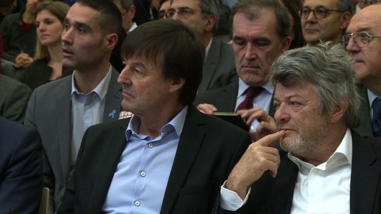 L'Elysée soutient Nicolas Hulot, cible de rumeurs