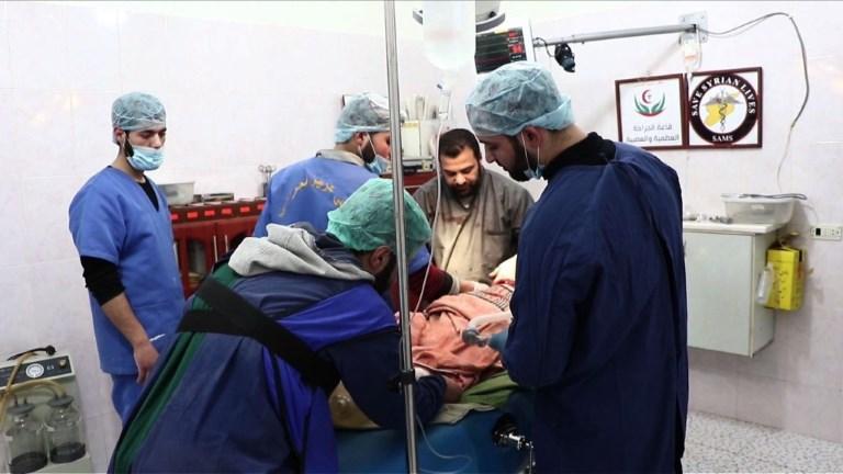 Ghouta orientale: des médecins syriens reçus à l'Elysée