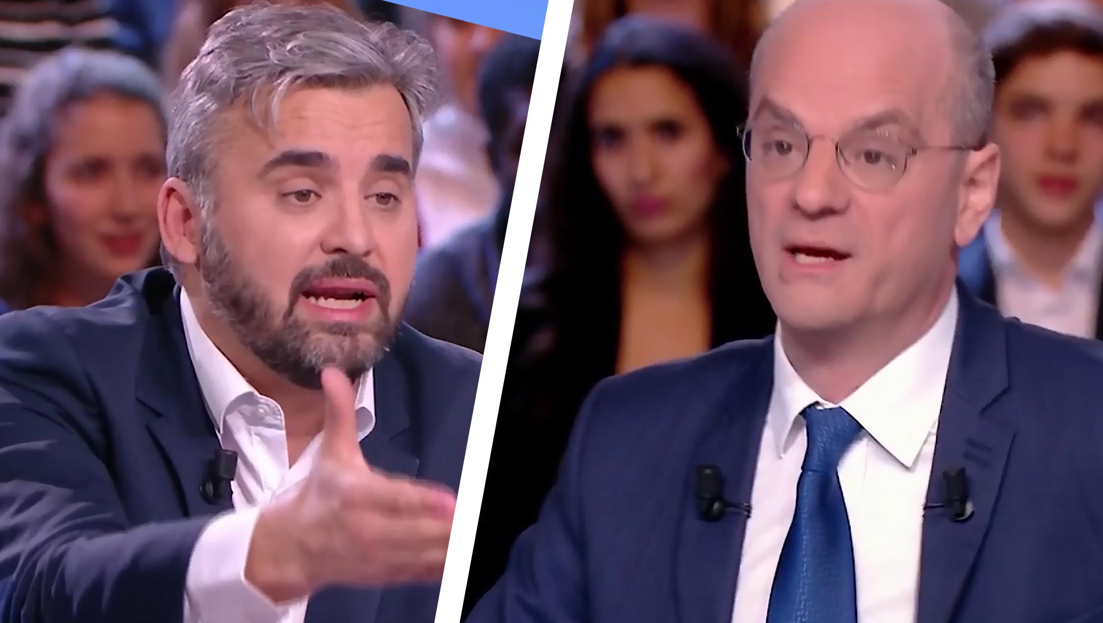 Alexis Corbière / Jean-Michel Blanquer