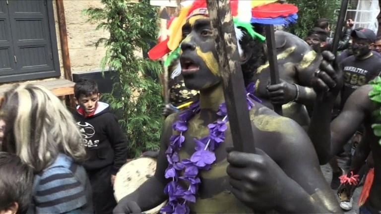 Liban: la ville de Tripoli aux couleurs du carnaval du