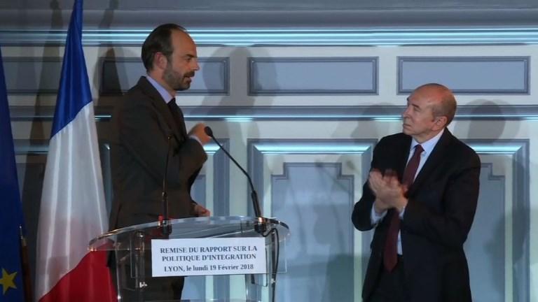 Intégration des étrangers: discours d'Edouard Philippe