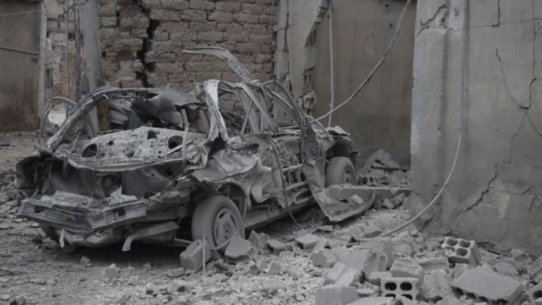 Syrie: Douma transformée en champ de ruines