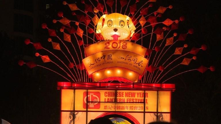 Sydney fête le Nouvel An chinois avec un festival de lanternes