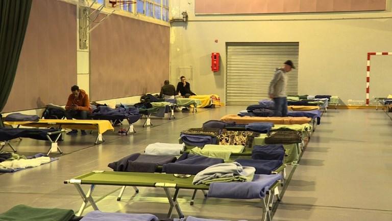 Froid : ouverture d'un gymnase pour les sans-abris à Paris
