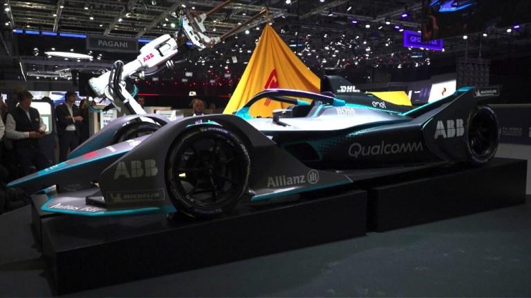 Formule E - La nouvelle monoplace dévoilée au public
