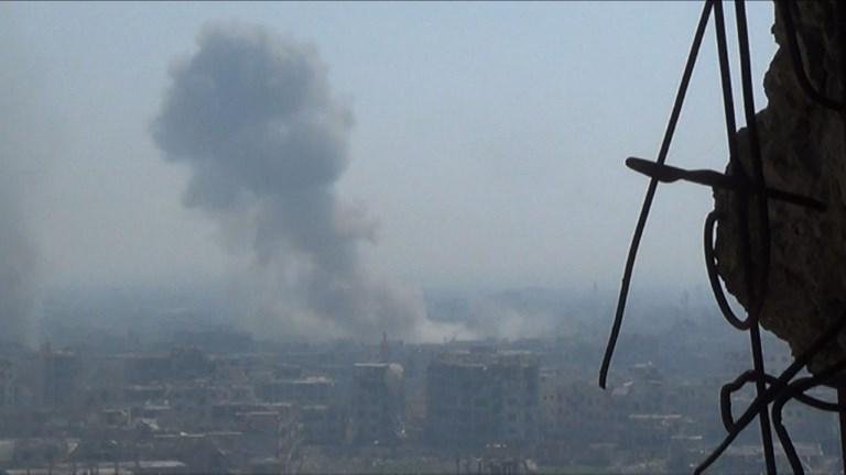 Le régime syrien continue de bombarder la Ghouta orientale