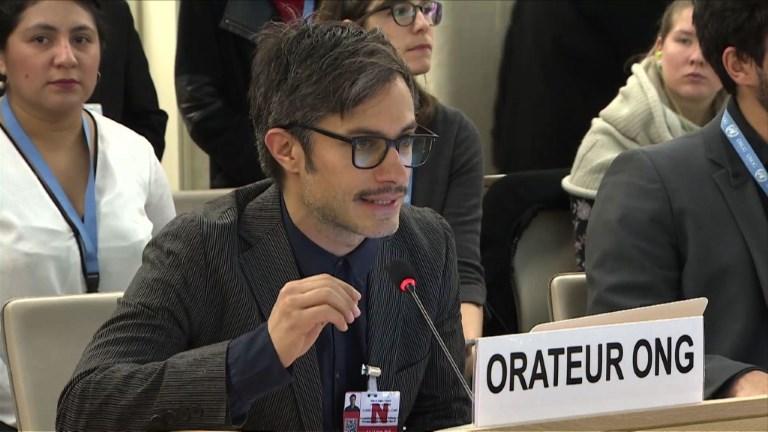 ONU: Garcia Bernal dénonce la violence et l'impunité au Mexique