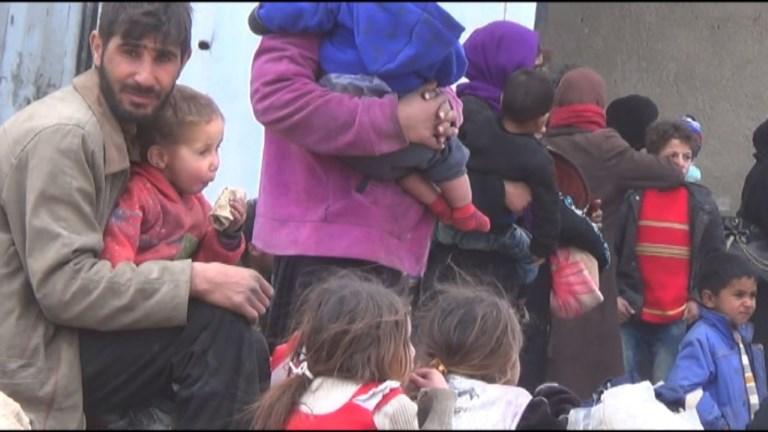 Ghouta Orientale: des milliers de Syriens continuent de fuir