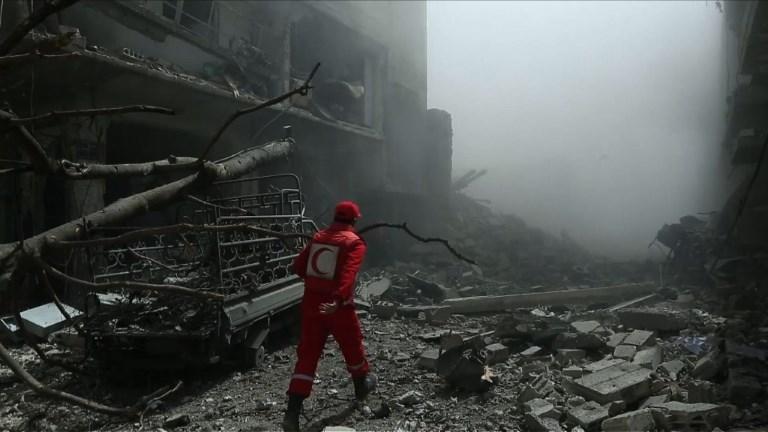 Syrie:Douma bombardée par le régime, au moins 25 civils tués