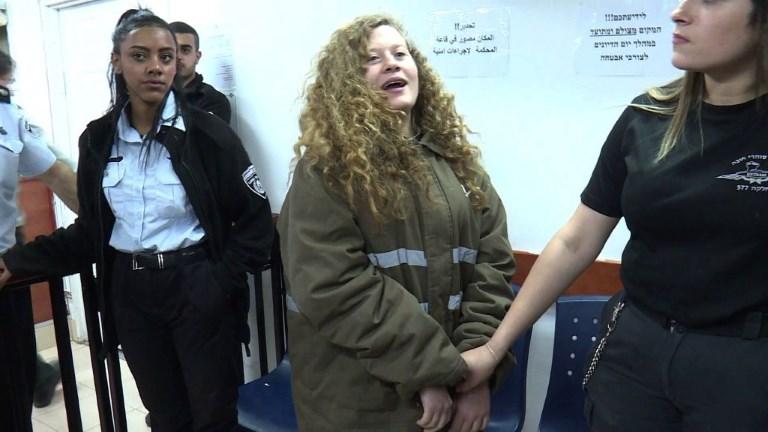 Israël: 8 mois de prison pour la jeune icône palestinienne