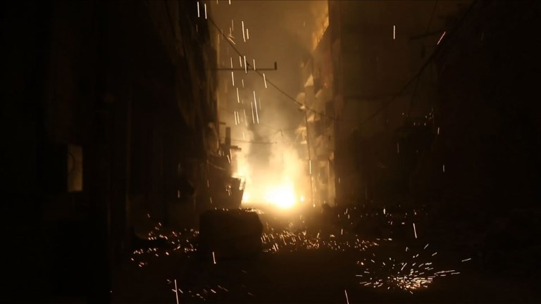 Ghouta orientale: nuit d'enfer à Douma