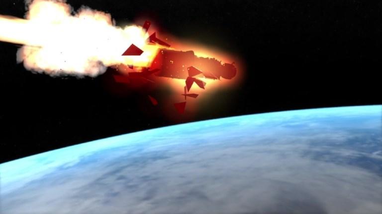 La chute de la station spatiale chinoise