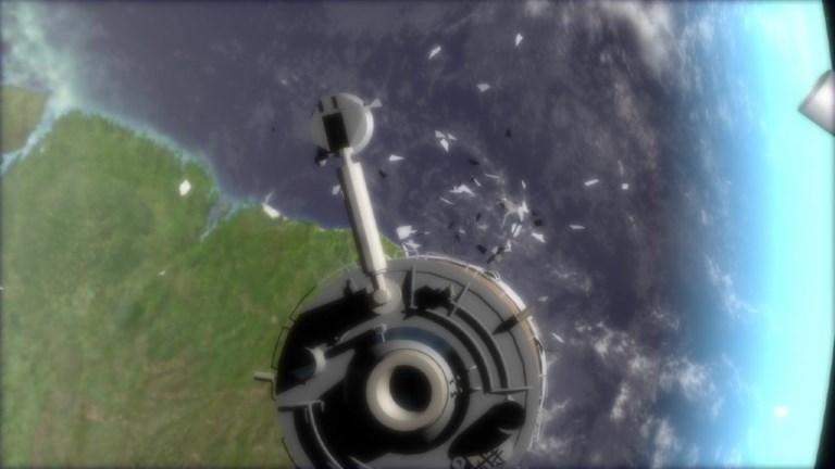 Les débris spatiaux