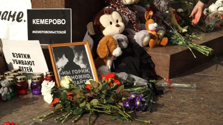 Les Moscovites expriment leur indignation après un incendie