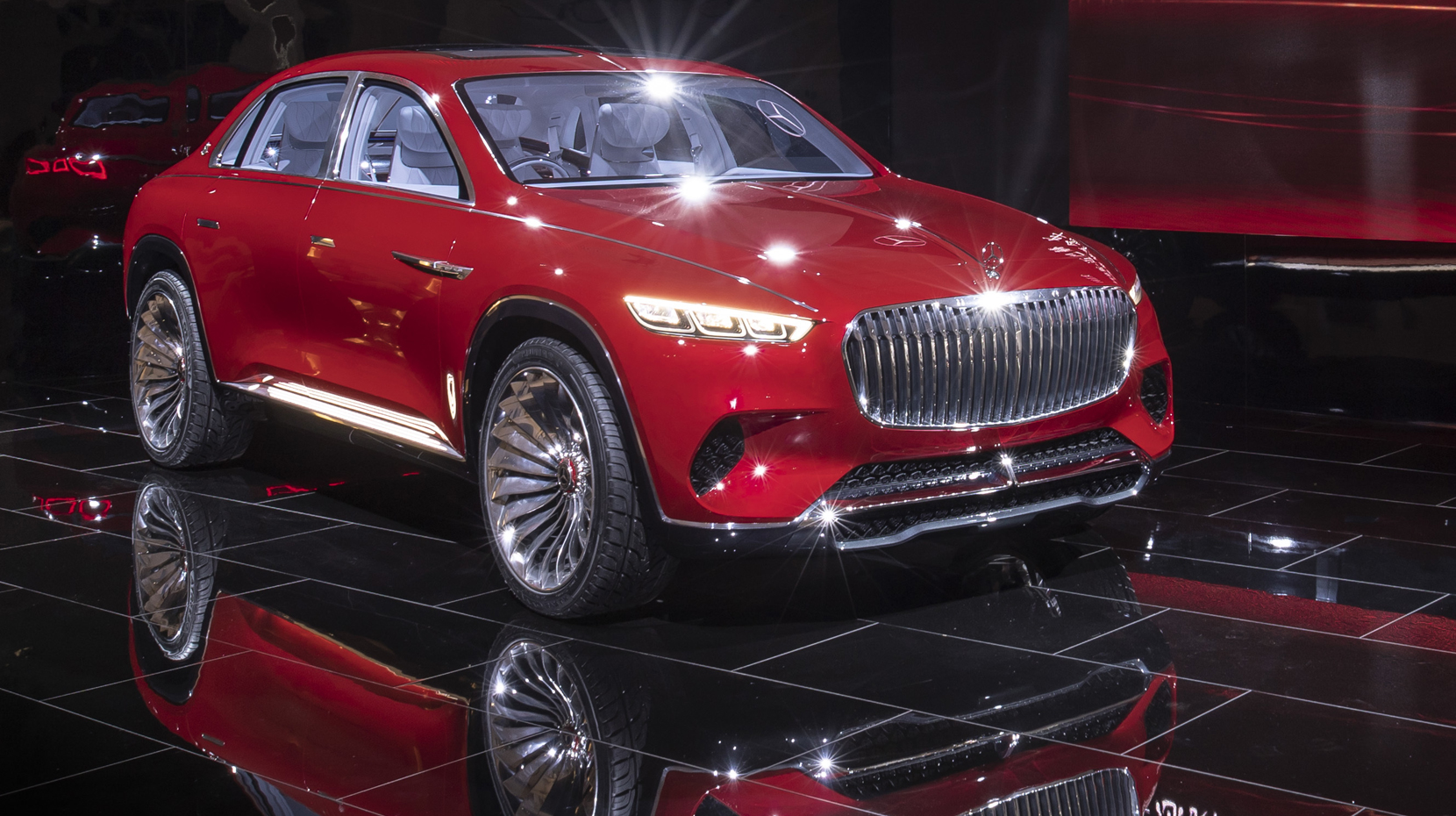 Le Mercedes-Maybach Ultimate Luxury prend la fuite